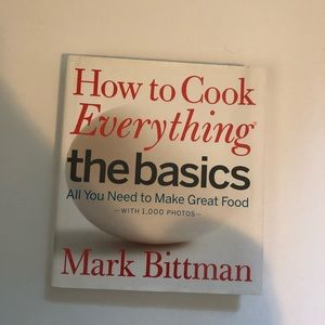 Other - How to cook everything cookbook